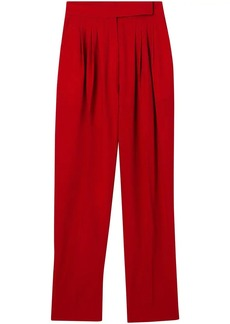 Burberry high-rise tailored trousers