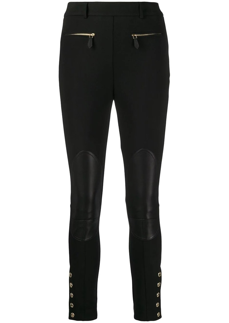 Burberry high-waisted skinny trousers