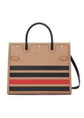 Burberry horizontal-stripe Title bag