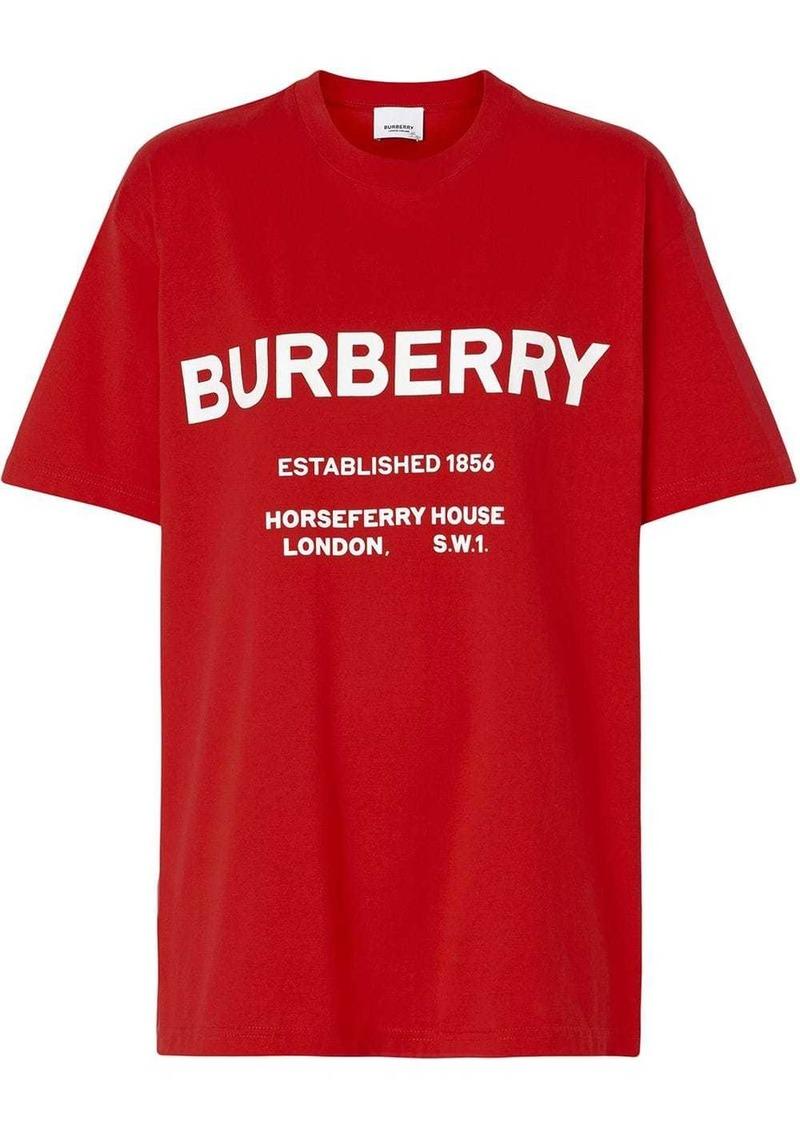 Burberry Horseferry Print Cotton T-shirt