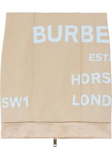 Burberry Horseferry print mini skirt