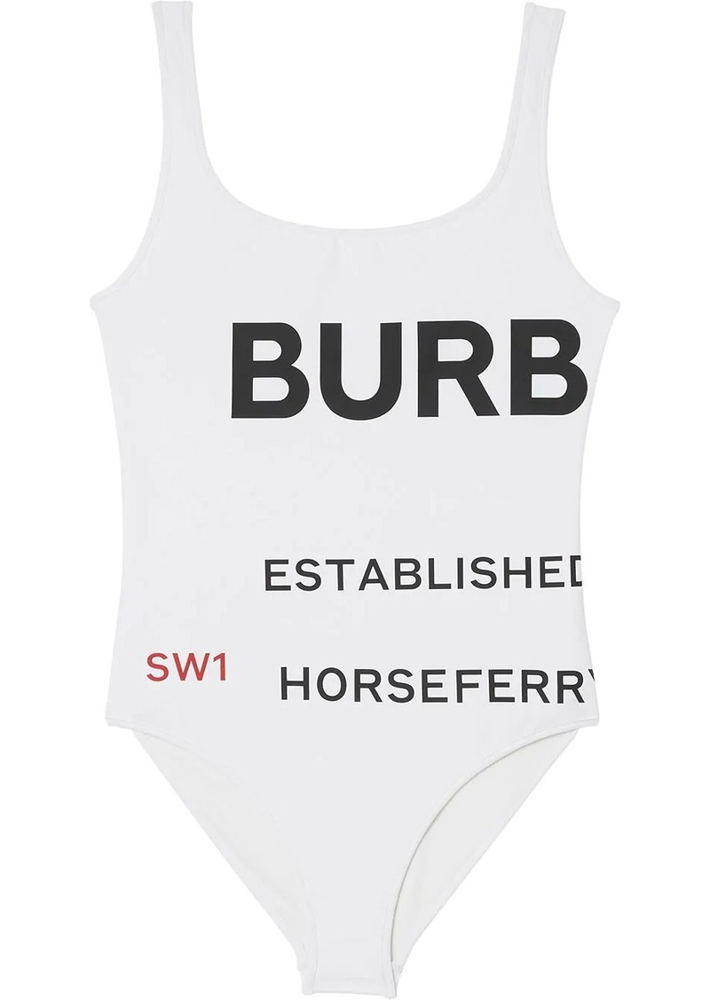 Burberry Horseferry Print Swimsuit