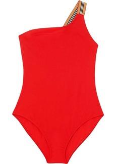 Burberry Icon stripe detail swimsuit