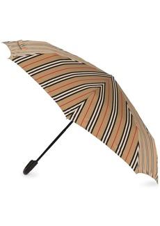 Burberry Icon Stripe folding umbrella