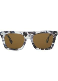 Burberry Icon stripe square-frame sunglasses