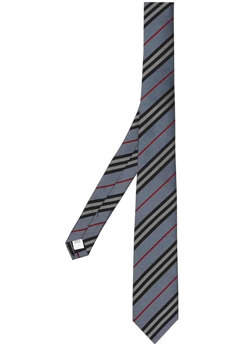 Burberry Icon stripe tie