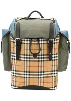Burberry iconic check backpack