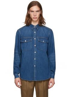 Burberry Indigo Denim Dickson Jacket