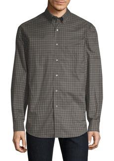 Burberry Jameson Check Woven Cotton Shirt