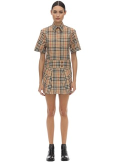 Burberry Jaynie Printed Cotton Poplin Dress