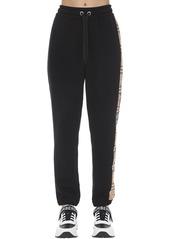 Burberry Raine Jersey Sweatpants W/  Side Bands