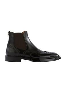 Burberry Joshua leather ankle boots