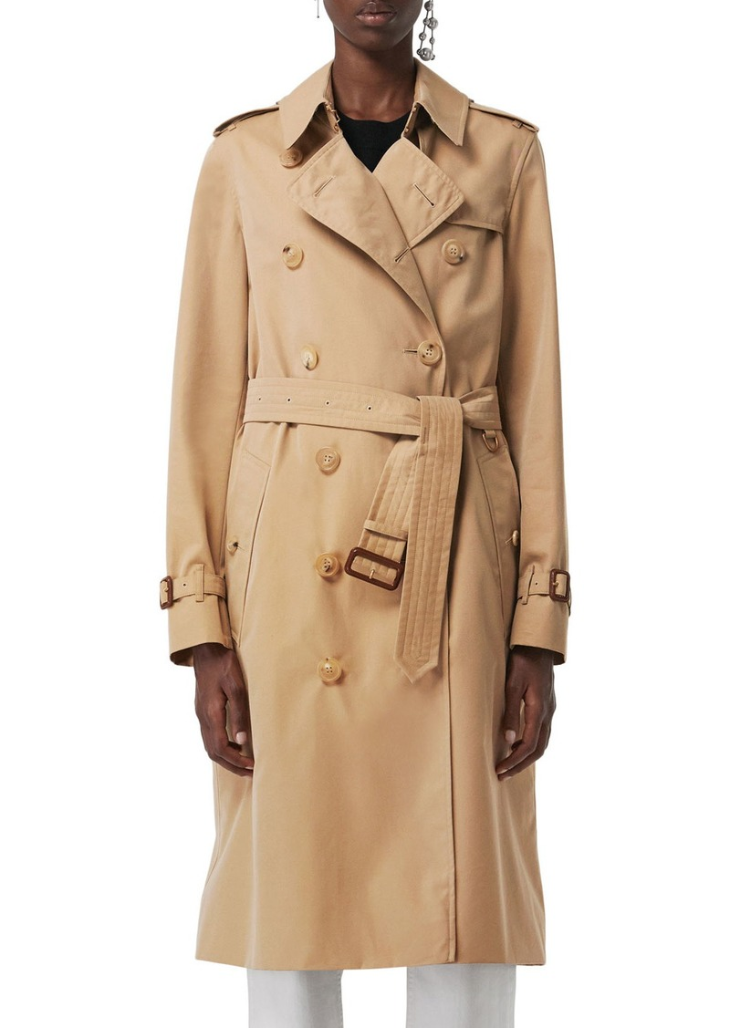 Burberry Kensington Heritage Belted Long Trench Coat   Outerwear 7855ec1e281