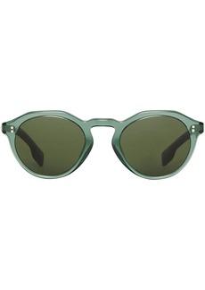 Burberry Keyhole Round Frame Sunglasses