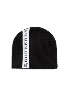 Burberry Kid's Horizontal Merino Wool Hat