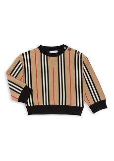Burberry Kid's Icon Stripe Sweatshirt