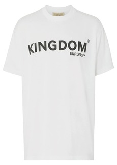 Burberry Kingdom Print Cotton T-shirt