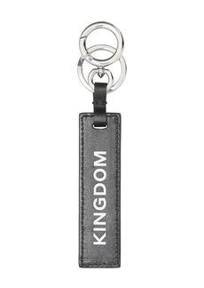 Burberry Kingdom Print Leather Key Ring
