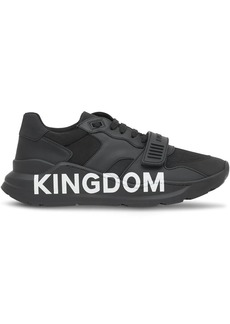 Burberry Kingdom print sneakers