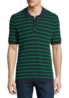 Burberry Kinsley Striped Polo Shirt