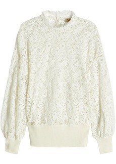 Burberry Lace Pullover with Cotton