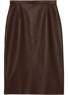 Burberry Lambskin Pencil Skirt