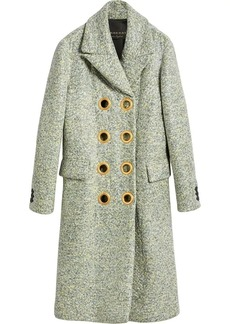 Burberry Laminated Cashmere Double-breasted Coat