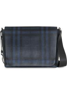 Burberry Large London Check Messenger Bag
