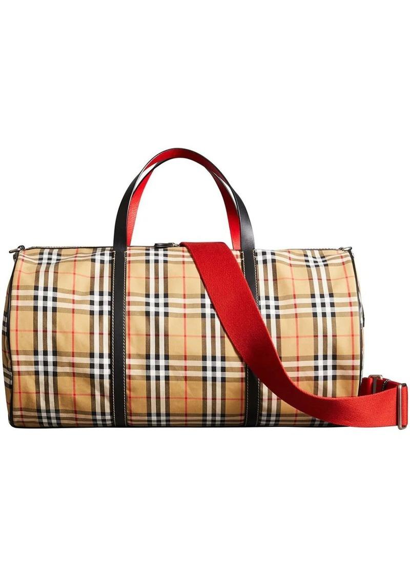 Burberry large vintage check bag
