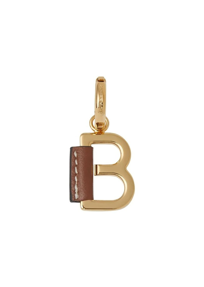 Burberry Leather-wrapped 'B' Alphabet Charm