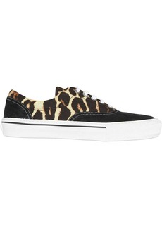 Burberry leopard print sneakers