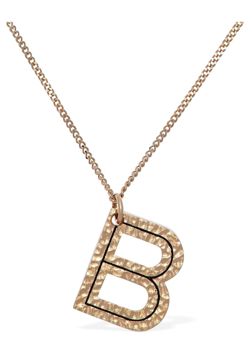 "Burberry ""Letter """"b"""" Charm Necklace"""