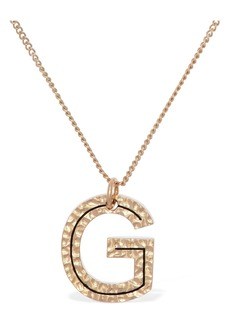"Burberry ""Letter """"g"""" Charm Necklace"""