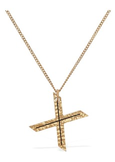"Burberry ""Letter """"x"""" Charm Necklace"""