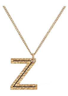 "Burberry ""Letter """"z"""" Charm Necklace"""