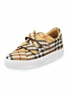 Burberry LF Alexandra Vintage Check Sneakers