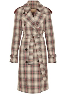 Burberry Lightweight Check Trench Coat