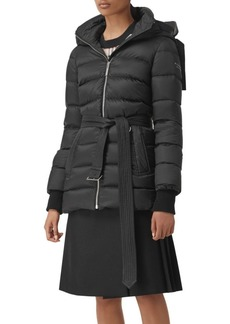 Burberry Limehouse Mid-Length Belted Jacket