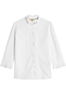 Burberry Linen and Cotton Shirt