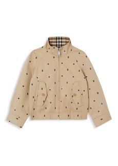 Burberry Little Boy's & Boy's Arledge Cotton Harrington Jacket