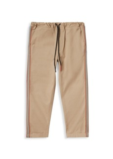 Burberry Little Boy's & Boy's Curran Icon Cotton Joggers