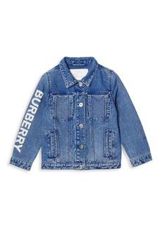 Burberry Little Boy's & Boy's Dillen Denim Jacket
