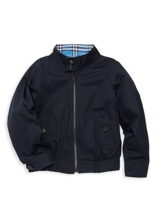 Burberry Little Boy's & Boy's Harrington Reversible Jacket