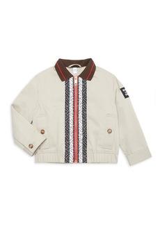 Burberry Little Boy's & Boy's Harrington Trim Jacket