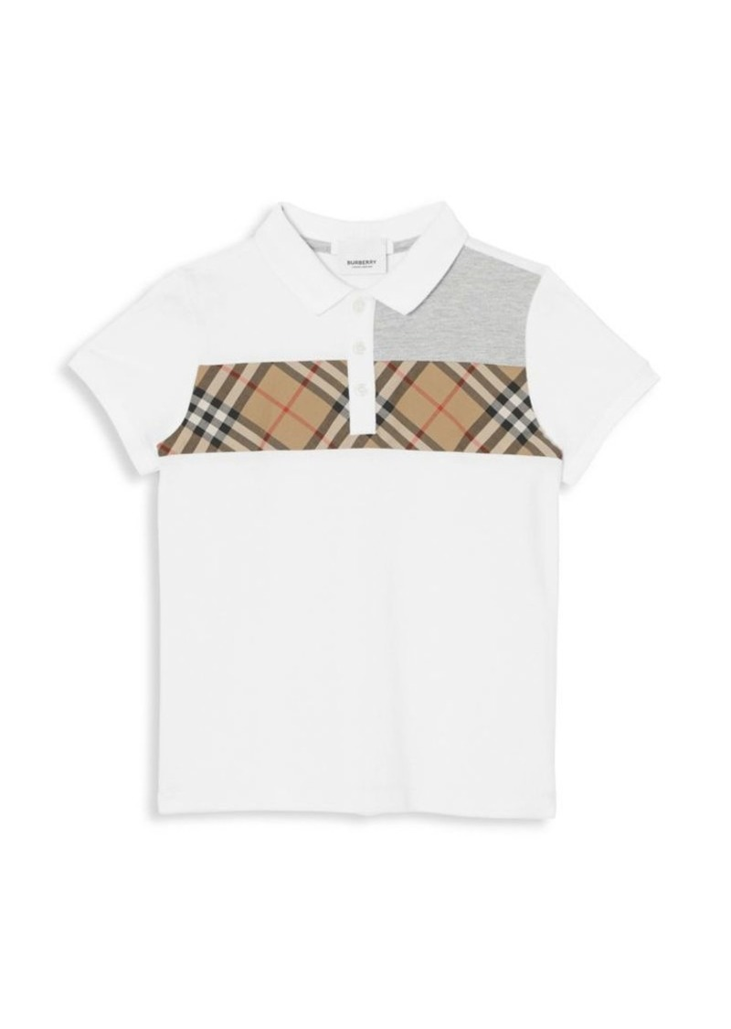 Burberry Little Boy's & Boy's Jeff Cotton Polo
