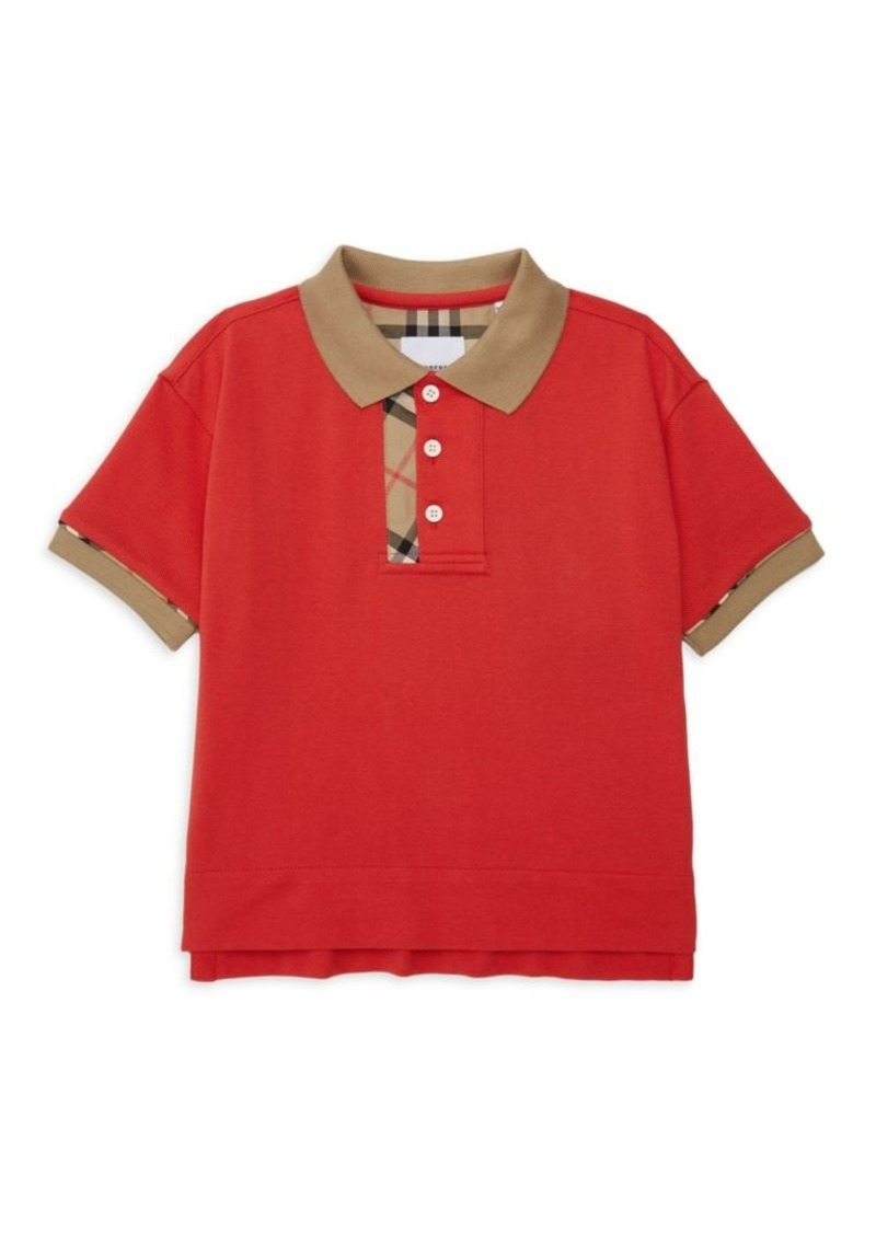 Burberry Little Boy's & Boy's KB5 Archie Polo