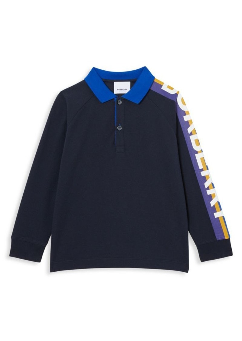 Burberry Little Boy's & Boy's KB5 Duncan Long-Sleeve Polo