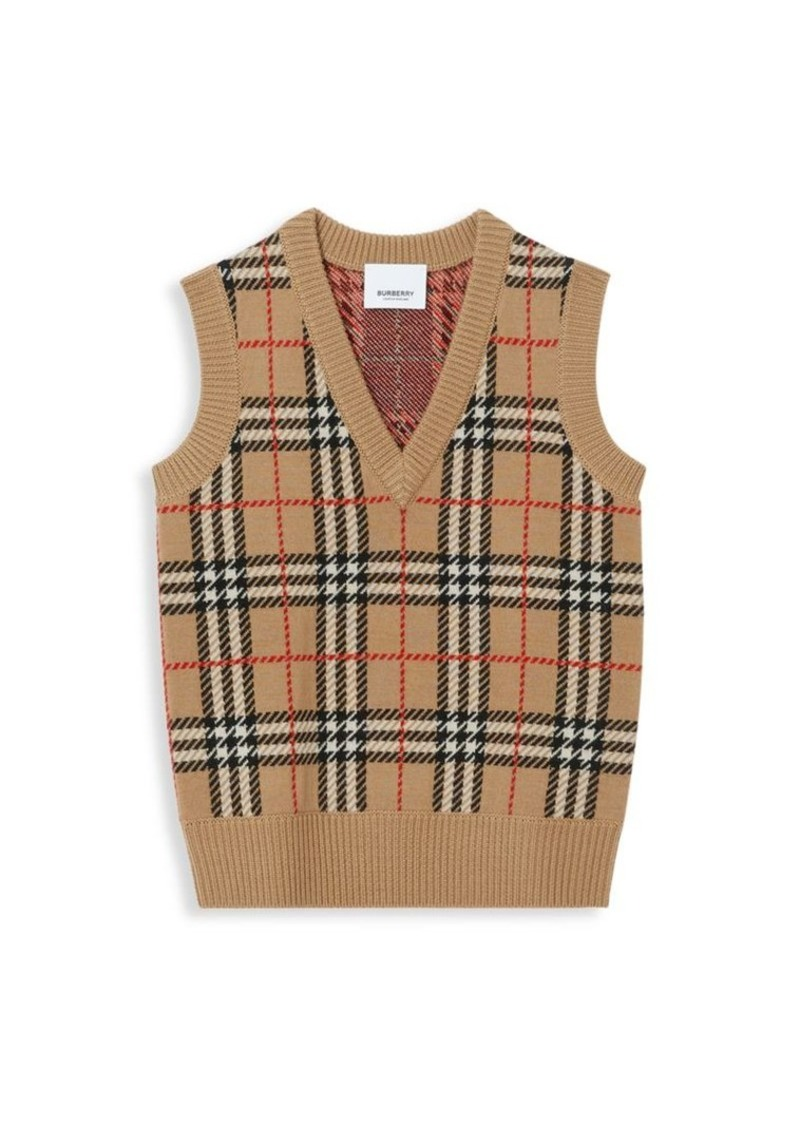 Burberry Little Boy's & Boy's KB5 Mickenzie Vest