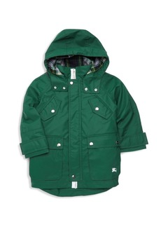Burberry Little Boy's & Boy's Liam Sherpa-Lined Coat