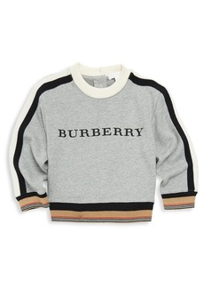Burberry Little Boy's & Boy's Logo Sweatshirt